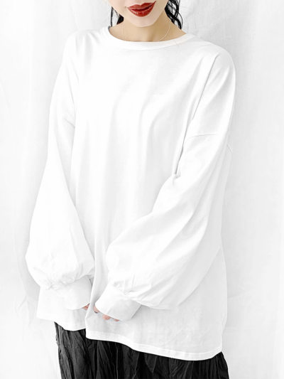 Oversized long T-shirt